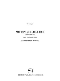 Mit Lov, Mit Lille Trae Books |