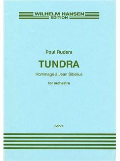 Poul Ruders: Tundra (Score) Books | Orchestra