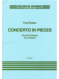 Poul Ruders: Concerto In Pieces (Purcell Variations) Score Books | Orchestra, Narration