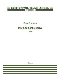 Poul Ruders: Dramaphonia (Score) Books | Piano, Ensemble