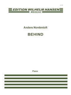 Anders Nordentoft: Behind Books | Piano