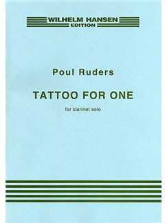 Poul Ruders: Tattoo For One Libro | Clarinete