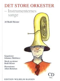 Bodil Heiser: Det Store Orkester - Bog & Cd Books and CDs |
