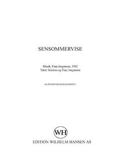 Finn Jørgensen: Sensommervise Bog | Stemme