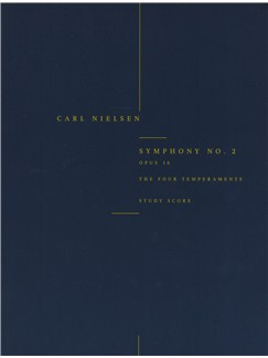 Carl Nielsen: Symphony No.2 'The Four Temperaments' Op.16 (Study Score) Books | Orchestra