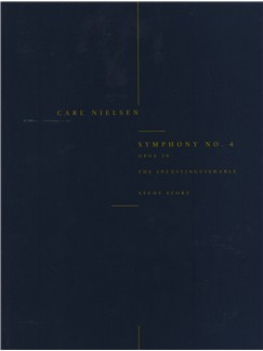 Carl Nielsen: Symphony No.4 'The Inextinguishable' Op.29 (Study Score) Books | Orchestra