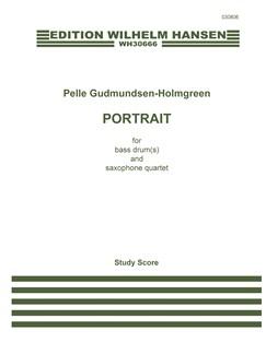 Pelle Gudmundsen-Holmgreen: Portrait (Score) Books | Saxophone (Quartet), Percussion
