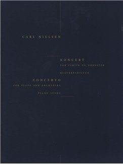 Carl Nielsen: Concerto For Flute And Orchestra (Flute/Piano) Livre | Flûte Traversière, Accompagnement Piano