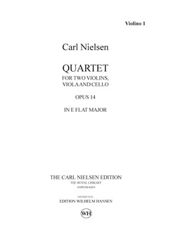 Carl Nielsen: String Quartet Op.14 In E Flat (Parts) Books | String Quartet