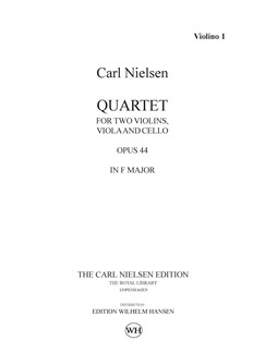 Carl Nielsen: String Quartet Op.44 In F Major (Parts) Books | String Quartet