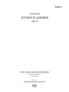 Carl Nielsen: Hymnus Amoris Op. 12 (Parts) Books | Orchestra