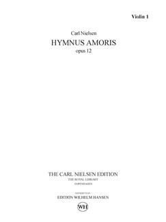 Carl Nielsen: Hymnus Amoris Op. 12 (Parts) Books | Orchestra