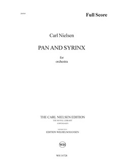 Carl Nielsen: Pan And Syrinx Op.49 (Score) Books | Orchestra