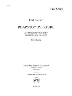Carl Nielsen: Rhapsody Overture (Score) Buch | Orchester