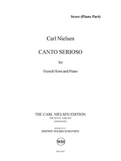 Carl Nielsen: Canto Serioso (Score and Part) Books | French Horn, Piano Accompaniment