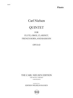Carl Nielsen: Wind Quintet Op.43 (Parts) Books | Wind Quintet