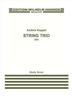 Anders Koppel: String Trio (Study Score) Books | String Trio