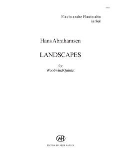 Hans Abrahamsen: Landscapes - Woodwind Quintet No.1 (Parts) Books | Wind Quintet