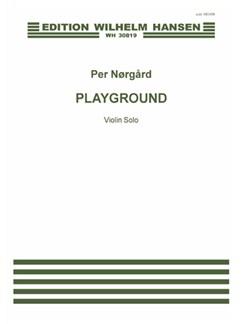 Per Nørgård: Playground (Spillerum) Books | Violin
