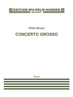 Peter Brunn: Concerto Grosso Books | Orchestra, Oboe, Piccolo, Flute, Clarinet, Bassoon, Contrabassoon, French Horn, Trumpet, Trombone, Bass Trombone, Percussion, Soprano Saxophone, Accordion, Violin, Viola, Cello, Double Bass