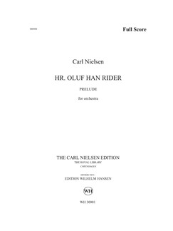 Carl Nielsen: Sir Oluf He Rides - Prelude (Score) Books | Orchestra