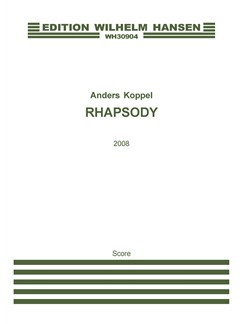 Anders Koppel:  Rhapsody (Score And Parts) Books | Cello, Accordion