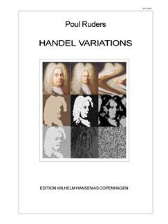 Poul Ruders: Handel Variations (Score) Books | Orchestra