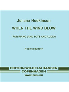 Juliana Hodkinson: When The Wind Blows (CD) CDs | Piano, Electronics