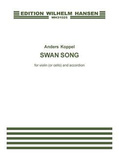 Anders Koppel: Swan Song For Violin (or Cello) And Accordion (Score And Parts) Books | Violin (Cello), Accordion