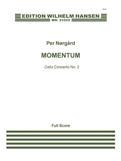 Per Nørgård: Momentum - Cello Concerto No. 2 (Score) Books | Cello, Orchestra