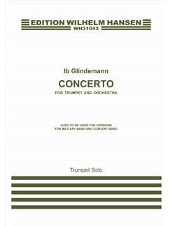 Ib Glindemann: Concerto For Trumpet And Orchestra (Solo Trumpet Part) Bog | Trompet