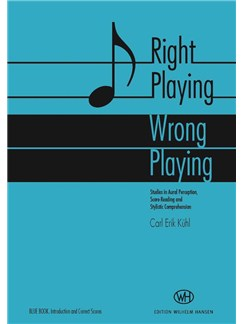 Carl Erik Kühl: Right Playing - Wrong Playing Books and CDs |