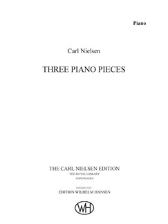Carl Nielsen: Three Piano Pieces Op.59 Books | Piano