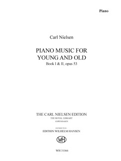 Carl Nielsen: Piano Music For Young And Old Op.53 Libro | Piano