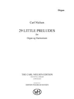 Carl Nielsen: 29 Smaa Præludier, op. 51 (Orgel) Bog | Orgel
