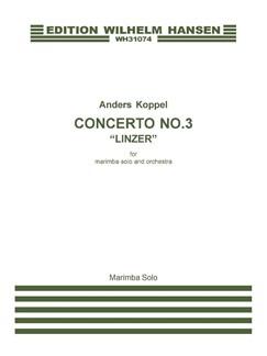 Anders Koppel: Concerto No.3 - Linzer (Marimba Solo) Bog | Marimba