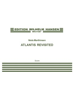 Niels Marthinsen: Atlantis Revisited (Score) Books | String Quartet