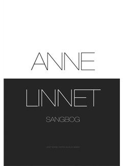 Anne Linnet Sangbog Books | Melody Line, Lyrics & Chords