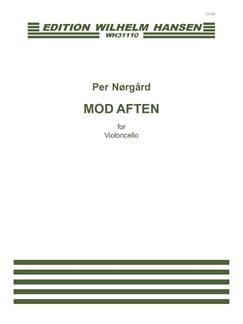 Per Nørgård: Mod Aften (Cello Solo) Books   Cello