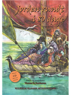 Thomas Bo Borchersen: Jorden Rundt i 80 Dage (Songbook/CD) Books | Orchestra