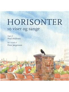 Finn Jørgensen og Poul Feldvoss: Horisonter - 10 Viser og Sange (Songbook) Bog | Tekst og becifring