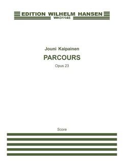 Jouni Kaipainen: Parcours Op.23 (Score) Books | Flute, Harpsichord
