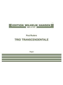 Poul Ruders: Trio Transcendentale Books | Organ