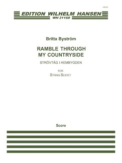 Britta Byström: Ramble Through My Countryside (Score) Books | String Ensemble