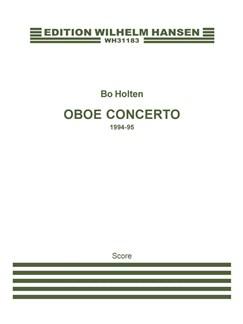 Bo Holten: Oboe Concerto (Score) Books | Oboe, Orchestra