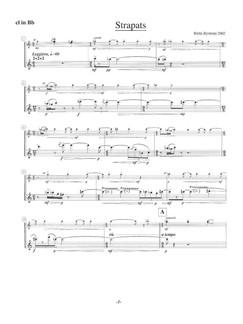 Britta Byström: Hardship (Parts) Books   Clarinet, Trumpet, Percussion, Piano Chamber, Violin, Viola