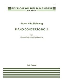 Søren Nils Eichberg: Piano Concerto No.1 (Score) Books | Piano, Orchestra