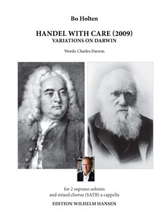 Bo Holten: Handel With Care - Variations On Darwin Books | Soprano, SATB