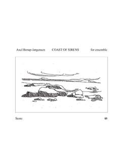 Axel Borup-Jørgensen: Coast Of Sirens (Score) Books | Flute, Clarinet, Percussion, Piano Chamber, Guitar, Violin, Viola, Electronics