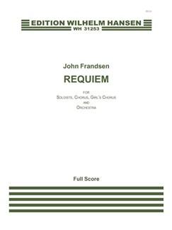 John Frandsen: Requiem (Score) Bog | SATB, Orkester, SSAA - Lige stemmer, Orgelledsagelse